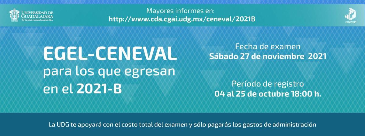 Banner CENEVAL 2021A