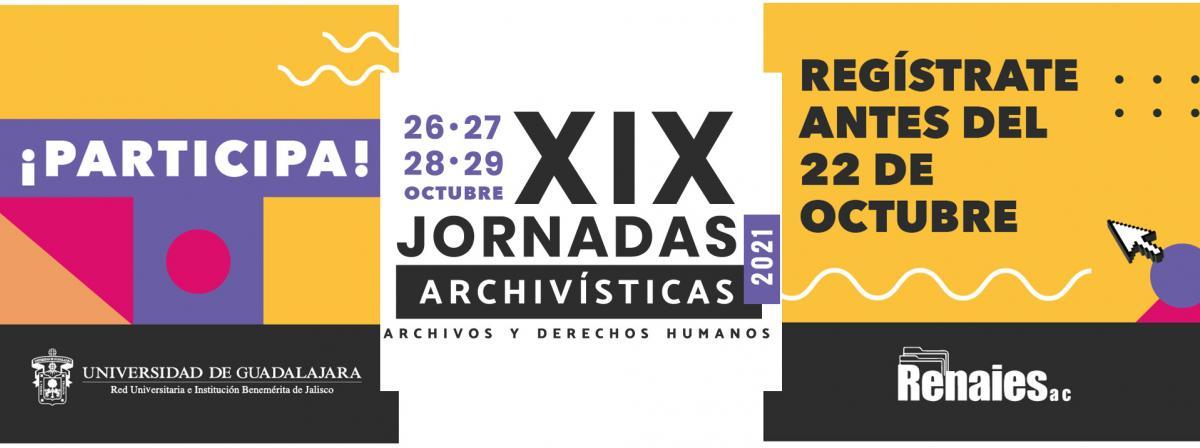 Banner XIX Jornadas Archivísticas